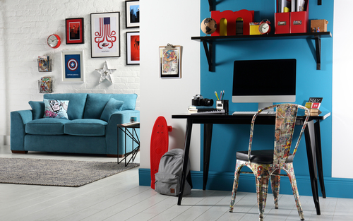 Marvel Superhero Living Study- Sofa &pound549