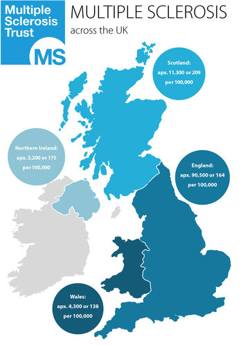 MS Across the UK
