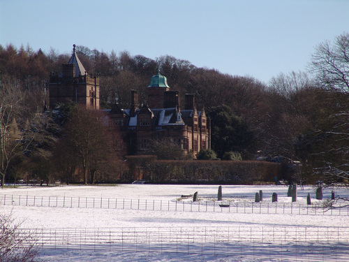 Holker Hall at Christmas