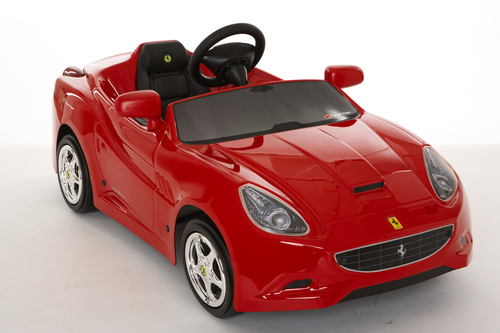 Ferrari ride-on for kids