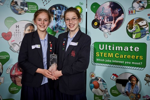 Winners  BP UltimateSTEM Challenge 2019