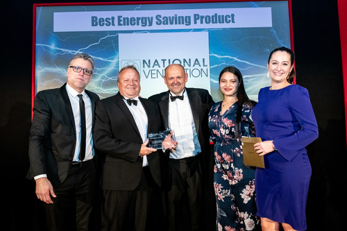 National Ventilation Receiving the Award