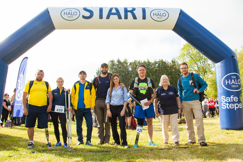 The Halo Trust Safe Steps Walk