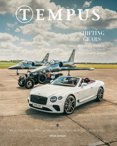 Tempus Magazine Speed Edition 2019 cover