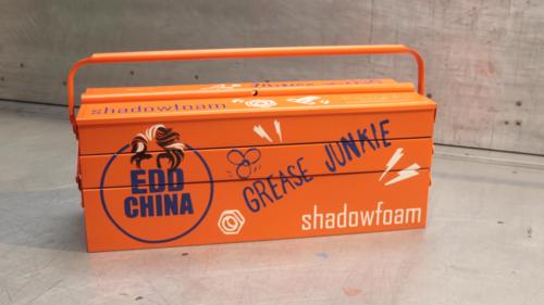 Edd China customised toolbox