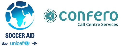Soccer Aid Unicef Confero Logo