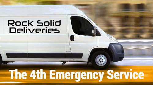 Rock Solid Deliveries Van