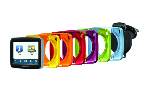 TomTom Start: six cool colours