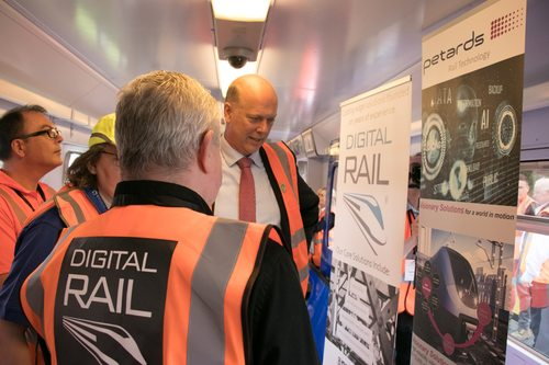 Digital Rail with Chris Grayling