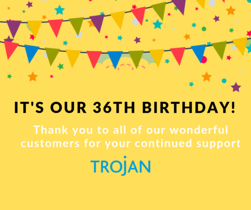 It&#039s our 36th Birthday