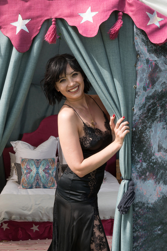 DAISY LOWE AT YURT BY SONYA ROTHWELL