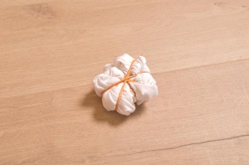 DIY Tutorial -  Shibori Tie Dye Swirl 2