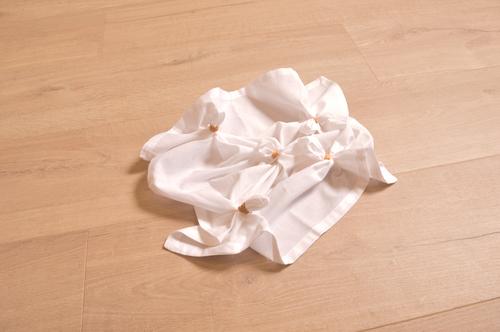 DIY Tutorial -  Shibori Tie Dye Step 3