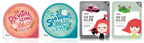 Selection of YADAH Korean Face Masks