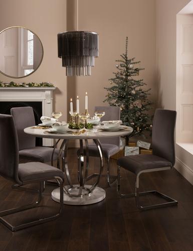 Savoy Marble Table - Christmas - &pound349.99