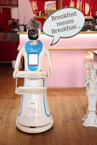 Theresa the Robotic Waitress Photo 2