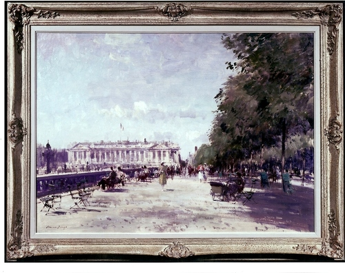 Summer in the Tuileries Gardens E. Seago