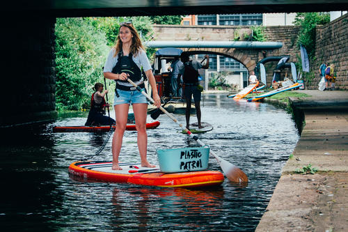 Founder of Plastic Patrol Lizzie Carr