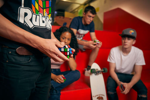 Rubik&#039s Cube Pop-Up Experience