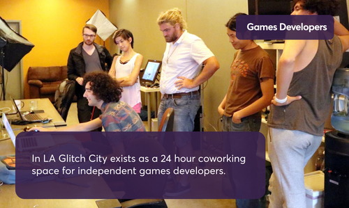 Glitch City Coworking Space