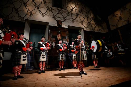 The Atholl Highlanders at Blair Castle