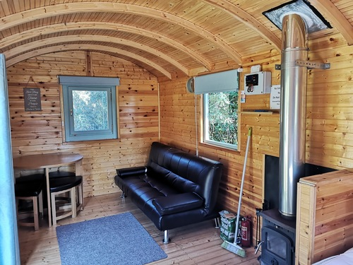 Shepherd&#039s Hut interior