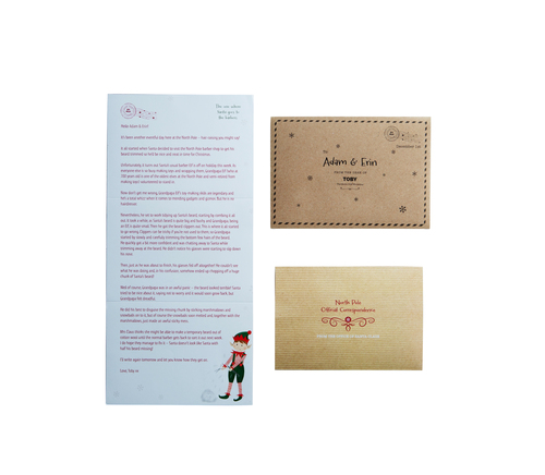 Personalised Advent Letters