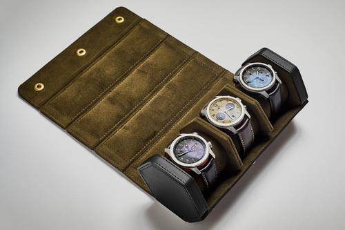 The Bennett Winch Watch Roll - Black 2