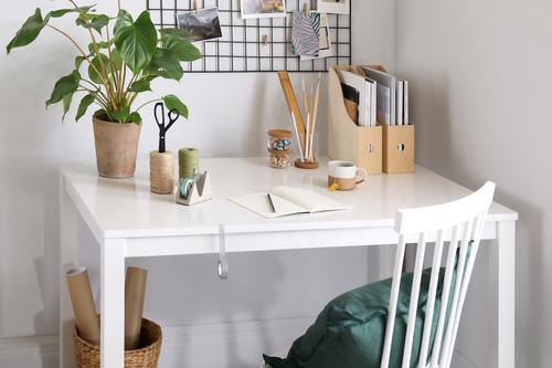 Mindful Living Wellness Desk Working