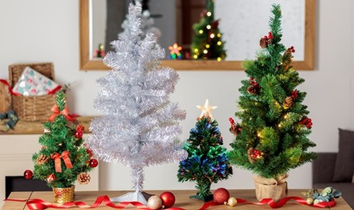Robert Dyas Tabletop Christmas Trees