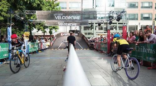 Innovative Pop-Up Velodrome