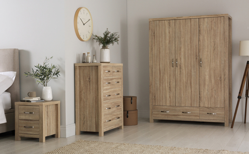 Lindley Bedroom Furniture Set - &pound150