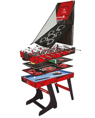 Hy-Pro 8-in-1 Folding Multi Games Table