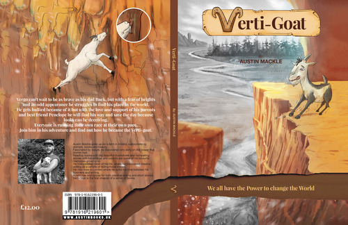 Front and back cover of Book Verti-Goat
