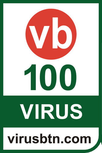 Virus Bulletin 100 Logo