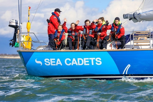 Sea Cadets learn life skills at sea