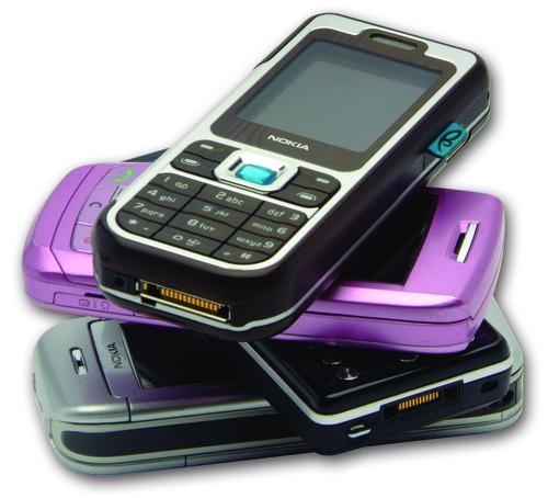 Mobile phone image