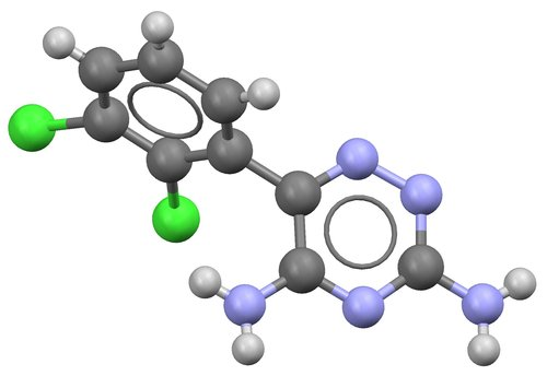 The crystal structure of Lamotrigine