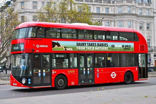 Mock up London Bus Dairy Takes Babies Ad