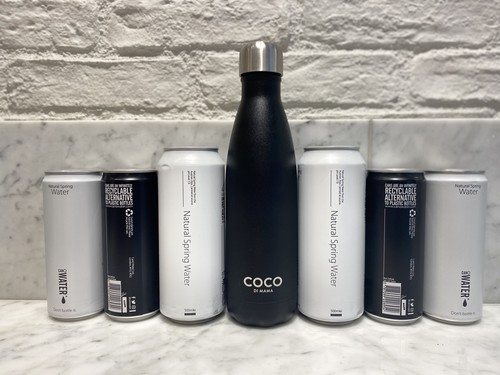 CanO Water Cans & Reusable Coco Bottle