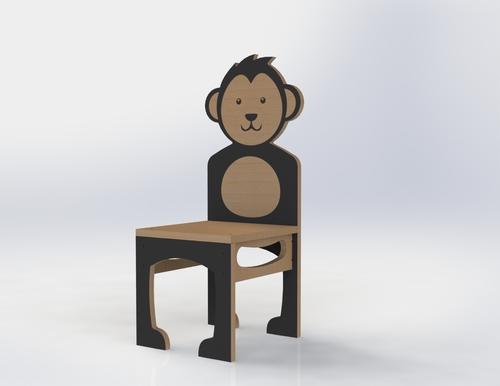 Manime Bear Cub Chair