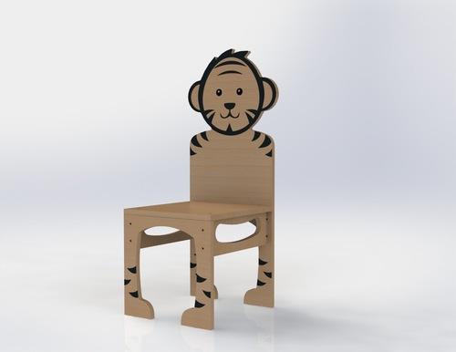 Manime Tiger Cub Chair