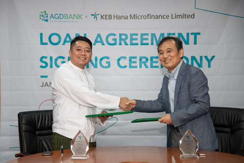 AGD Bank Signing Ceremony