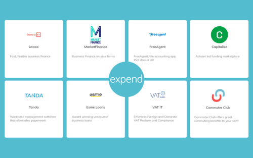 Expend Marketplace launch partners