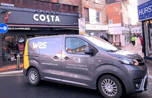 WRS Systems upgrading Costa Coffee Store