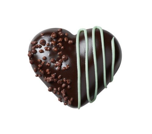 Dark Chocolate Mint Heart RRP: &pound2.20