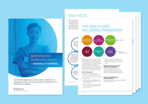 NHS Making it Happen guide cover + pages