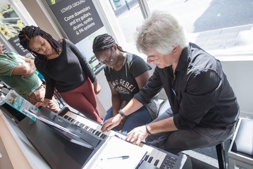 Piano Lesson at Yamaha Music London