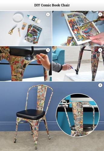 FC Comic Book Chair DIY