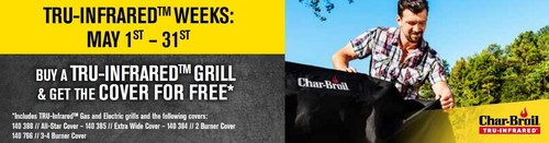 Char-Broil Online Promotion May 2020